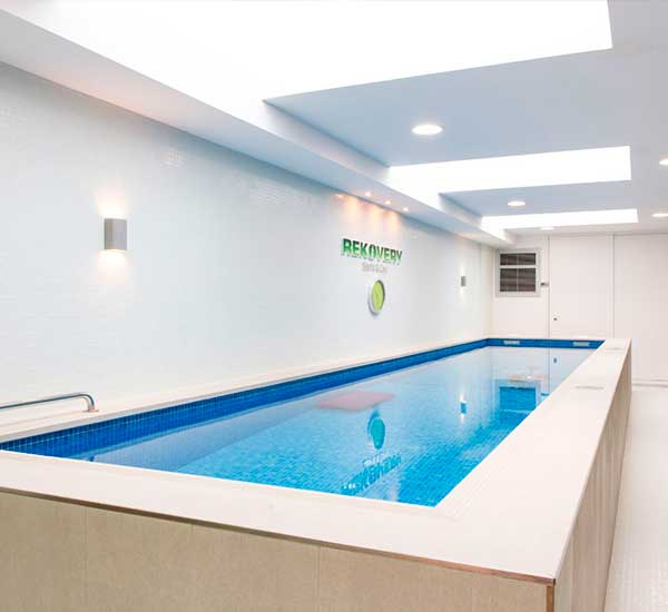 Piscina rehabilitacion en Madrid