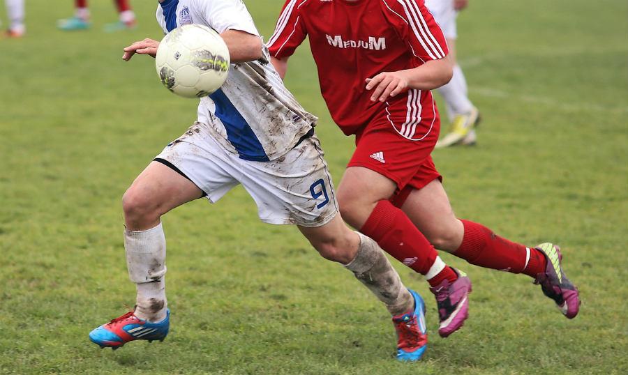 Esguinces en el fútbol