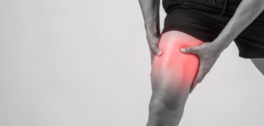 la rotura fibrilar del músculo o isquiotibial puede ser muy dolorosa