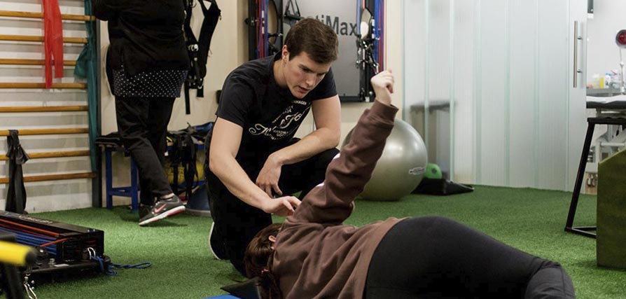 rehabilitacion de hombro en Madrid