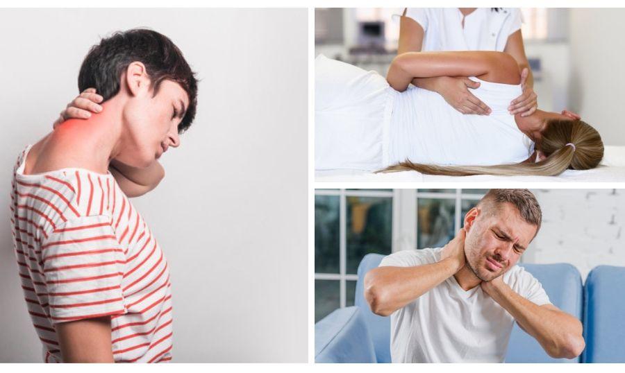 La fisioterapia tras un latigazo cervical