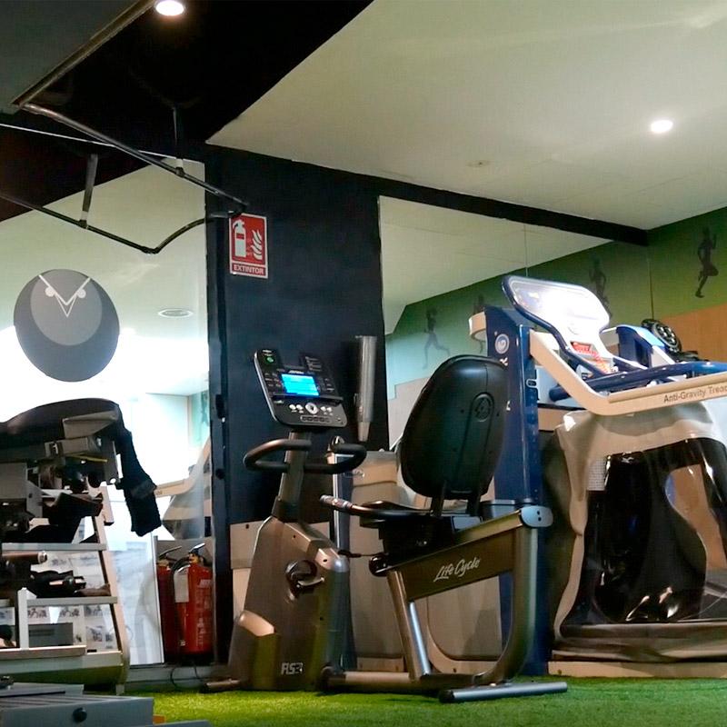 Instalaciones para fisioterapia deportiva avanzada