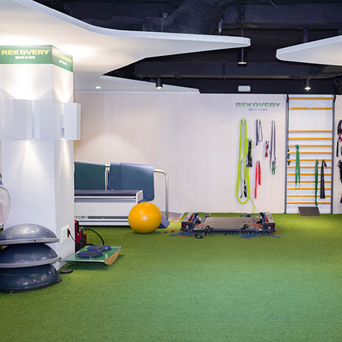 Instalaciones de 600m2 en Madrid con los mejores fisioterapeutas