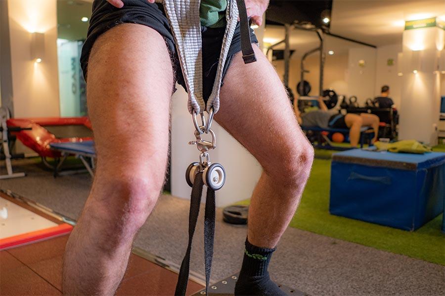 Ejercicios de fisioterapia para rotura de menisco