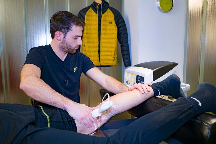 Tratamiento de fisioterapia para la rotura de menisco