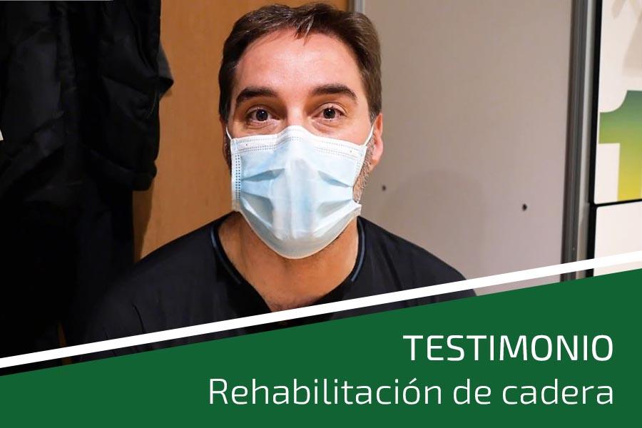 testimonio rehabilitación cadera